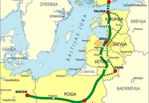 Rail Baltica пройдет через 2000 частных земельных участков