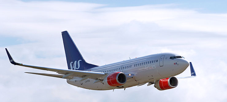 Scandinavian Airlines возвращается в Латвию