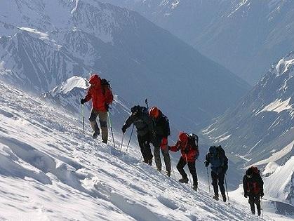 В Грузии эвакуировали латвийских альпинистов