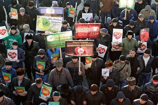 Митинг против карикатур на пророка Мухаммеда собрал более миллиона человек