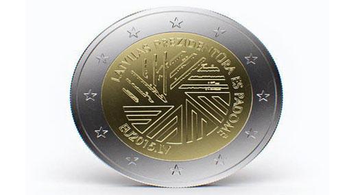 Банк Латвии выпустит в обращение монету в честь председательства в ЕС